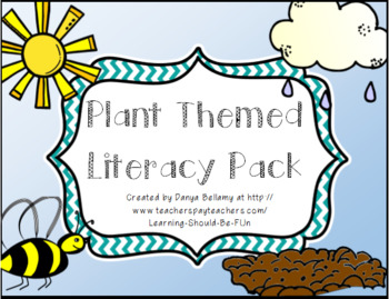 Plants Themed Literacy Pack