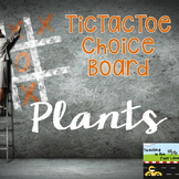 Plants TicTacToe Choice Board