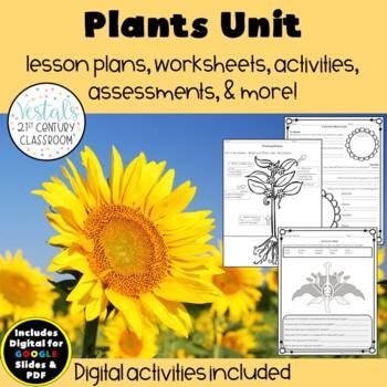 Plants Unit {Digital & PDF Included}