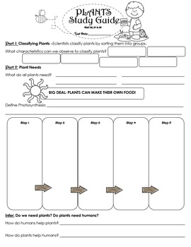 Plants Unit Assessment BUNDLE