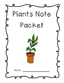 Plants Unit Packet