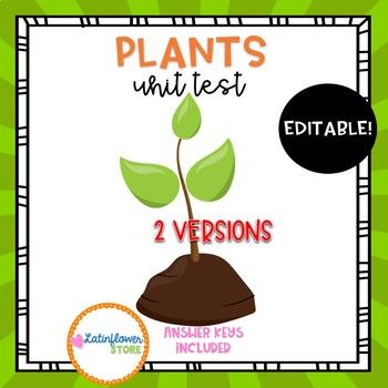 Plants Unit Test-Editable
