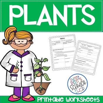 Plants Unit Worksheets