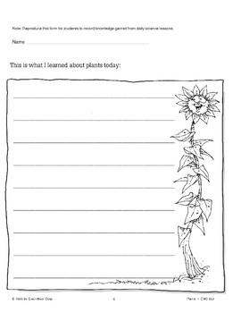 Plants: Using Logbooks