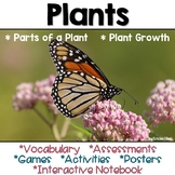 Plants Vocabulary, Activities, Games and Assessments