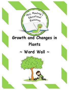 Plants - Word Wall