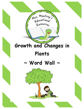 Plants - Word Wall