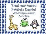 Plants and Animal Habitats Booklet