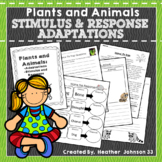 Adaptations, Stimulus and Response, Plants and Animals, Mini-Unit, Bundle