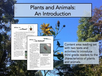 Plants and Animals: An Introduction