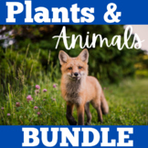 Plants and Animals BUNDLE
