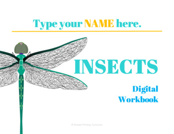 Keyboarding: Insects