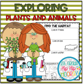 Plants and Animals...KDG NGSS...K-LS1-1, K-ESS2-2, K-ESS3-1