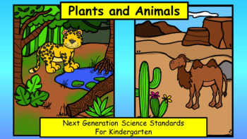 Plants and Animals Unit for Kindergarten (NGSS)
