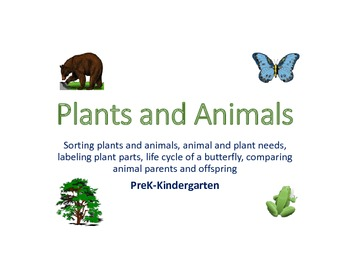 Plants and Animals Packet