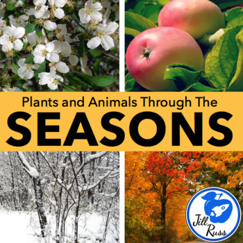 Plants and Animals Respond to the Changing Seasons Unit and Lapbook