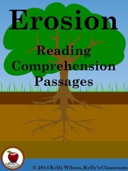 Erosion Reading Comprehension Passages
