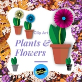 Plants and Flowers - Clip Art