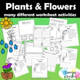 Parts of a Flower and Plants Bundle