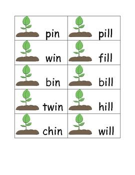Plants and Gardening Short i Word Family Sort