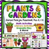 Plants and Gardens Theme Activity Pack