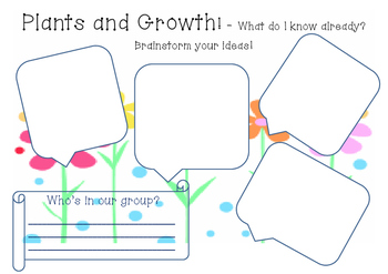 Plants and Growth Assessment Brainstorm