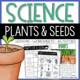 Parts of a Seed, Plants, and,Basic Needs of a Plant Activities and Worksheets