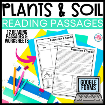 Plants and Soil Reading Comprehension Passages