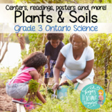 Plants and Soils Centers, Reading Passages and Craftivities