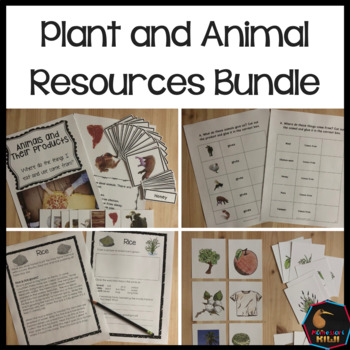 Plants and animals uses and resources