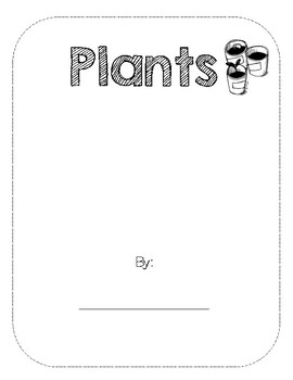 Plants booklet