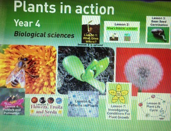 Plants in Action- Primary Connections Biological Science-