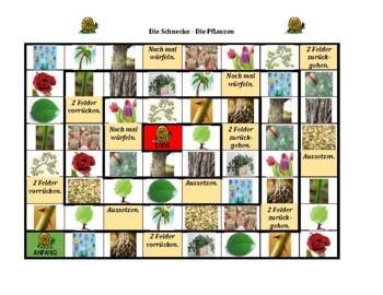 Plants in German Schnecke Snail game