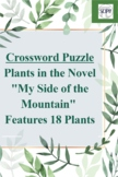 """Plants in """"My Side of the Mountain"""" Crossword Puzzle: Features 18 Plants"""