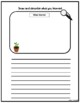Plants observation sheet