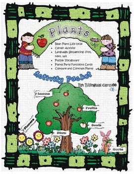 Plants/Bean Plant Life Cycle Activity Packet