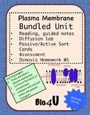 Plasma Membrane, Passive and Active Transport Bundled Unit