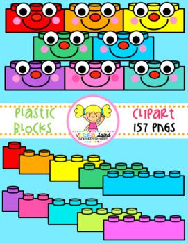 Plastic Blocks Clipart
