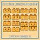 Plastic Brick Characters - Similar to Kawaii Lego Clip Art Set Commercial Use