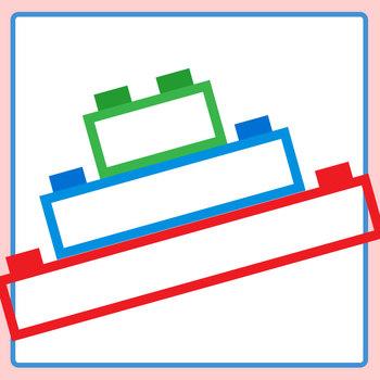 Plastic Bricks (Similar to Lego or Lego Like) Graphic Organizer Clip Art Pack