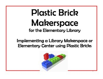 Plastic Building Bricks Makerspace Starter for Elementary