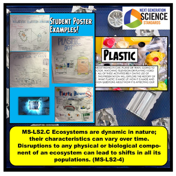 Plastic Bundle: Science Labs, Notes, & Activity supports Ecosystems Human Impact
