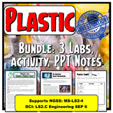 Plastic Bundle: Science Labs, Notes, & Activity supports E