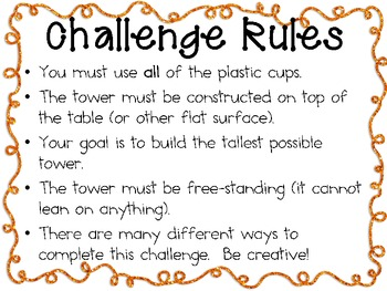 Plastic Cup Tower: Engineering Challenge Project ~ Great STEM Activity!