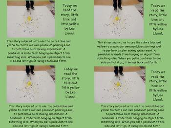 Plastic Egg Pendulum Painting