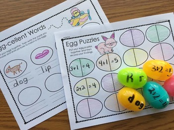 Plastic Egg Recording Sheet