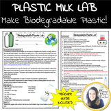 Plastic Milk Lab - Make Biodegradable Plastic!