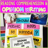 Plastic Pollution Opinion Writing