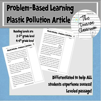 Plastic Pollution Research Article