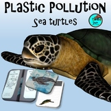 Plastic Pollution & Sea Turtles | Lapbook NGSS Project Bas